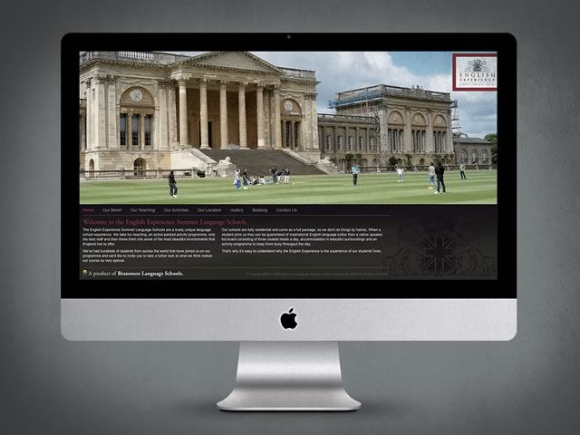 English Experience Website