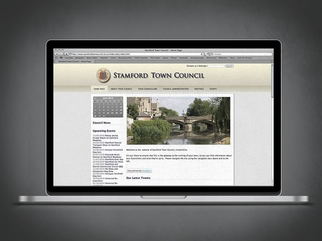 Stamford Town Council Website